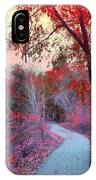 The Pondering Path IPhone Case