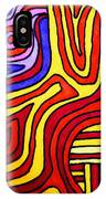 The Psychedelic Musings Of A Squid IPhone Case