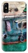The Pulling Boat  IPhone Case