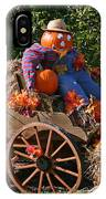The Pumpkin Farmer IPhone Case