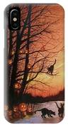 The Pumpkin Tree IPhone Case