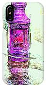 The Purple Medicine Bottle IPhone Case