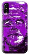 The Purple Monster IPhone Case