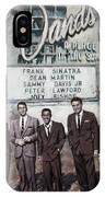 The Rat Pack IPhone Case