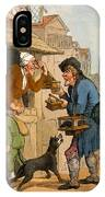 The Rat Trap Seller From Cries IPhone Case
