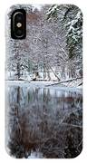 Red Boathouse On Beaver Brook IPhone Case