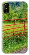 The Red Gate IPhone Case