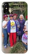 The Red Hat Ladies At The Catfish Plantation IPhone Case