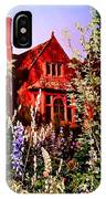 The Red House IPhone Case