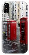 The Red Phone Booth IPhone Case