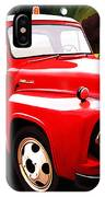 The Red Tow Truck IPhone Case