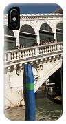 The Rialto Bridge Of Venice IPhone Case