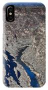 The Rio Grande River-arizona  IPhone Case
