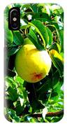 The Ripe Pear IPhone Case