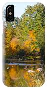 The River Flows IPhone Case
