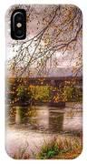 The Riverside At Avenham Park IPhone Case