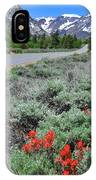 The Road Into Lundy Canyon IPhone Case