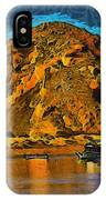 The Rock At Morro Bay Abstract IPhone Case