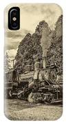 The Rocket Sepia IPhone Case