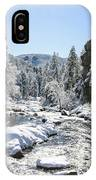The Rockies In Winter IPhone X Case