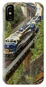 The Rocky Mountaineer IPhone Case