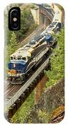 The Rocky Mountaineer Train IPhone Case