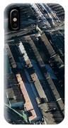 The Rooftops Of Arcelormittal Dofasco IPhone Case