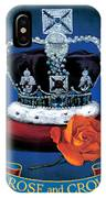 The Rose & Crown IPhone Case