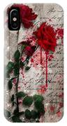 The Rose Of Sharon IPhone Case