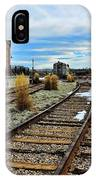The Roundhouse Evanston Wyoming - 5 IPhone Case