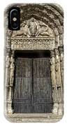 The Royal Portal At Chartres IPhone Case