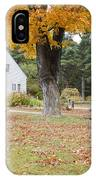 The Russell-colbath Historic Homestead - Albany New Hampshire IPhone Case