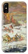 The Russian Winter IPhone Case
