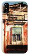 The Rustic Look In Naples Italy IPhone Case
