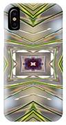The Sacred Pine Mandala Yantra IPhone Case