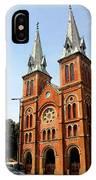 The Saigon Notre-dame Basilica IPhone Case