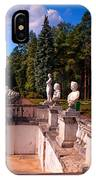 The Satutues Of Archangelskoe Palace. Russia IPhone Case