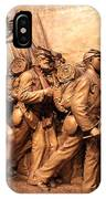 Saint Gaudens -- The Shaw Memorial's Right Side IPhone Case