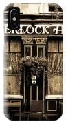The Sherlock Holmes Pub IPhone Case