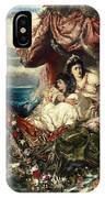 The Shipwreck Of Agrippina IPhone Case