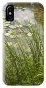 The Side Of The Lily Pond IPhone Case