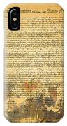 The Signing Of The United States Declaration Of Independence IPhone X Case