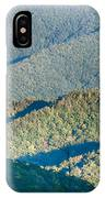 The Simple Layers Of The Smokies At Sunset - Smoky Mountain Nat. IPhone Case