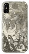 The Sinking Of The Earth, Jan Luyken, David Ruarus IPhone Case