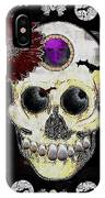 The Skull Is In Love With Cupidos IPhone Case