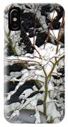 The Snowy Tree II IPhone Case