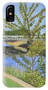 The South Nation River At Spencerville Historic Mill IPhone Case