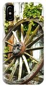 The Spare Wheel  IPhone Case