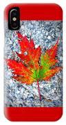 The Spirit Of Autumn IPhone Case