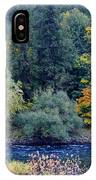The Spokane River In The Fall Colors IPhone Case